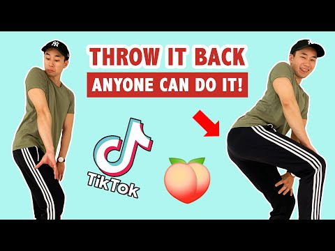 How To Throw It Back (STEP BY STEP TUTORIAL) | Popular Tik Tok Dance Move