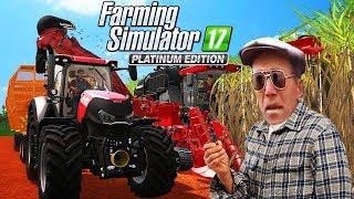 DEDEM BU SEFER ADAM GİBİ ÇİFTLİK BIRAKMIŞ! - Farming Simulator 17 Platinum Türkçe