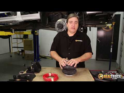 How to Install Firestone Air Bag Suspension Kit and Air-Rite Air Control System