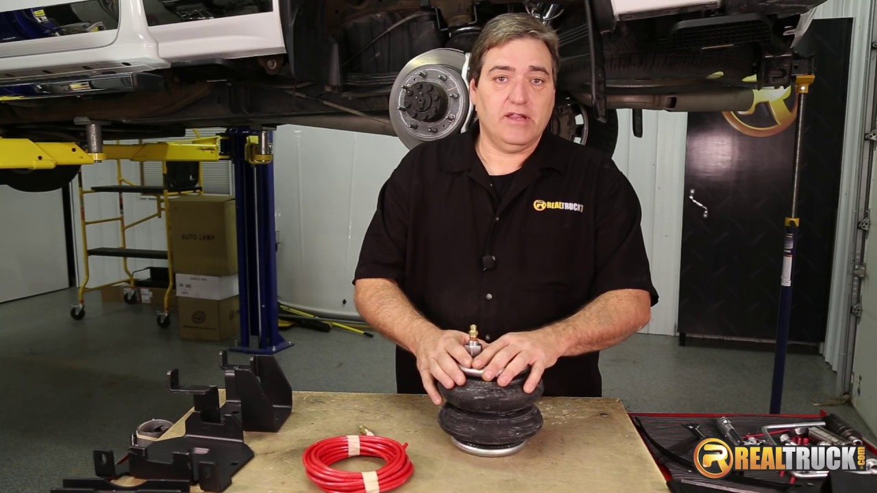 How to Install Firestone Air Bag Suspension Kit and Air ...