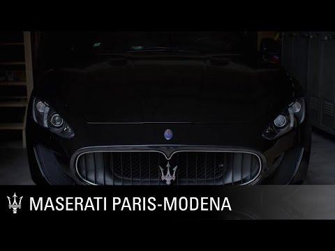 Maserati Cycling. Maserati follows the Paris-Modena for charity kilometers