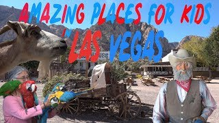 """Amazing places for Kids in Las Vegas""  Vlog #179"