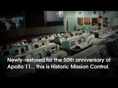Mission Control at NASA Johnson Space Center: History and Restoration
