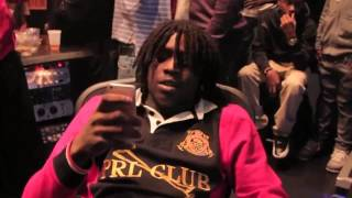 Chief Keef  DKG of Lets Eat Ent in Studio Working on New Record