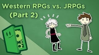 Western & Japanese RPGs - II: Narrative vs. Expression - Extra Credits