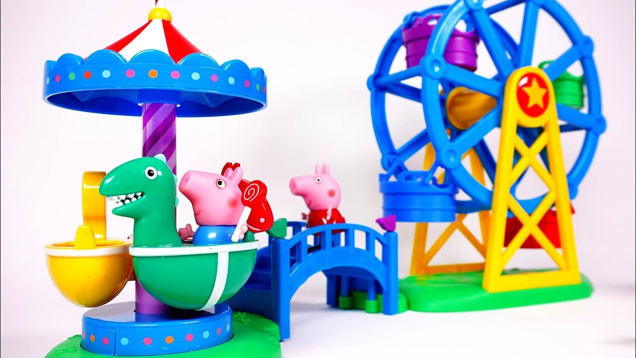 Peppa Pig/'s Fair Exclusive Playset
