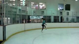 Ice skating at the aerodrome