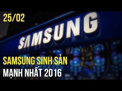 Samsung sản xuất nhiều sản phẩm nhất năm 2016, Nokia 3310 có màn hình màu