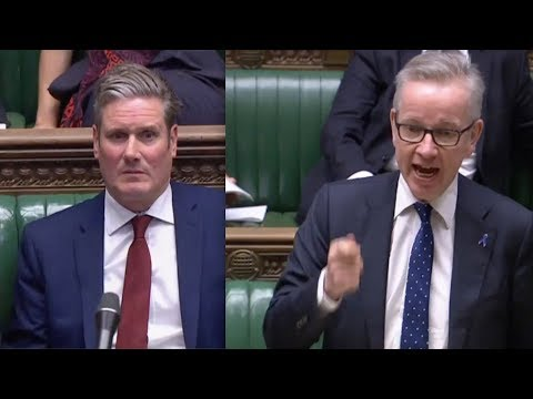 NO-DEAL BREXIT: Enough, ENOUGH, ENOUGH ! Gove rips into Labour's Starmer over Brexit bluffing