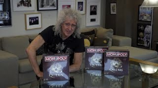 Join us and watch as Brian May unboxes the first ever finished copy...