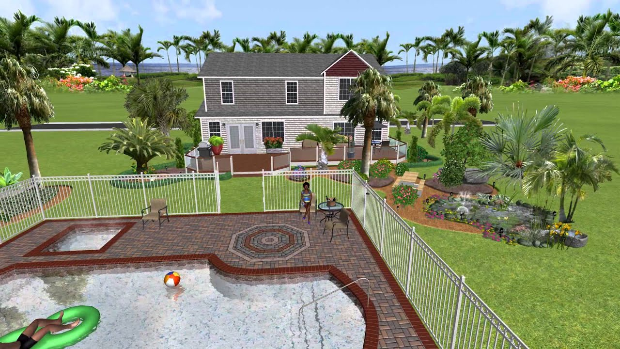 3 Realtime Landscaping Pro Tropical Youtube
