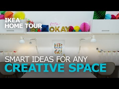 Craft Room Redesign with Oh Joy! - IKEA Home Tour
