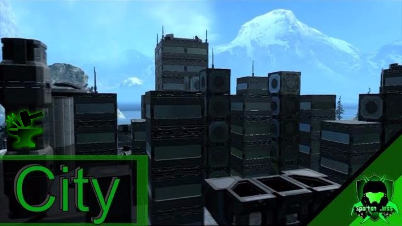 City - Halo Reach Forge Map Review