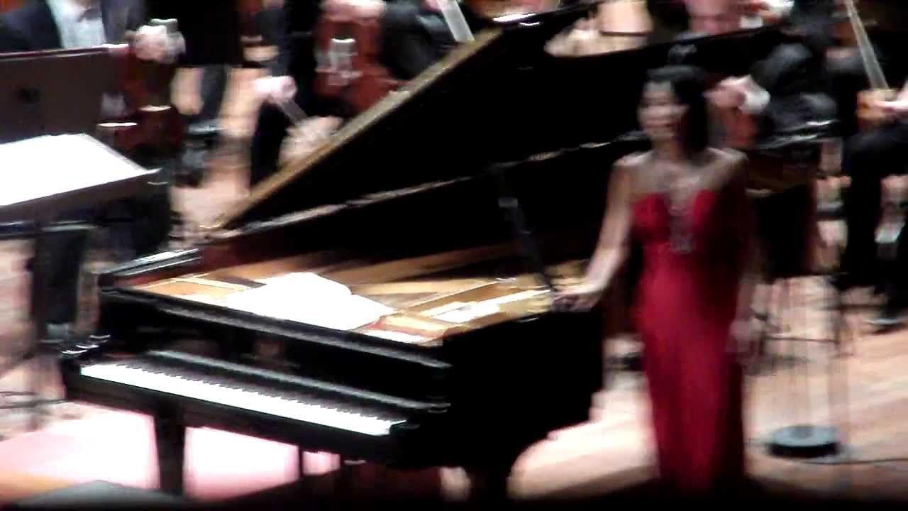 Yuja Wang at Carnegie Hall - Brahms Ballades, Schumanns
