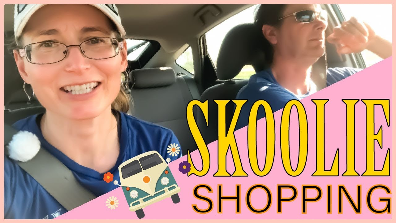 BIG NEWS!! We're shopping for a SKOOLIE!! - YouTube