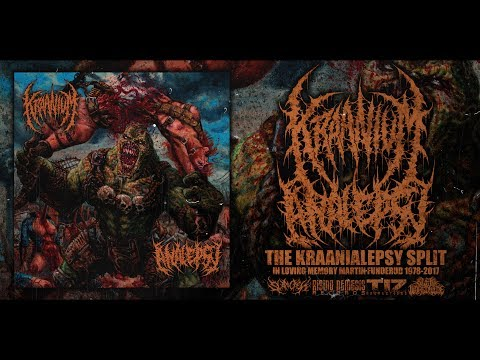 KRAANIUM / ANALEPSY - THE KRAANIALEPSY SPLIT [OFFICIAL STREAM] (2017) SW EXCLUSIVE