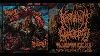KRAANIUM / ANALEPSY - THE KRAANIALEPSY SPLIT [ STREAM] (2017) SW EXCLUSIVE