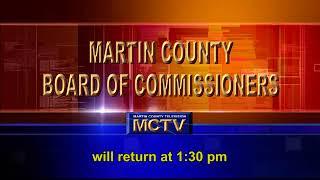 Martin County Board Regular Meeting July 28 part 1