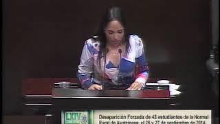 Dip. Lizeth Sánchez (PT) - Desaparición Forzada de 43 Estudiantes