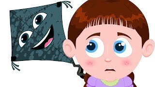 Schoolies | Haunted Kite | Nursery Rhymes For Children | cartoon for kids