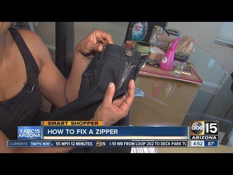 Broken zipper? Fix it in 4 easy steps