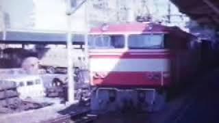 西武鉄道E851池袋駅 The Seibu railway's class E851 DC Electric locomotive