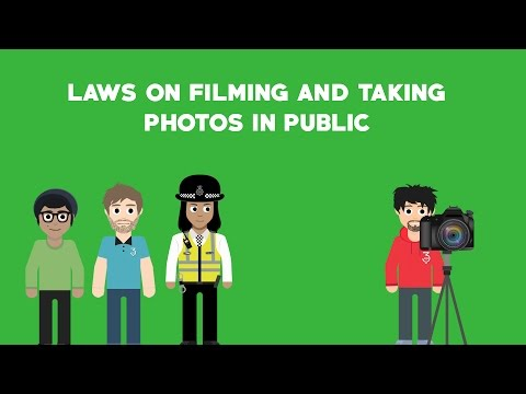What are the laws when filming in public in the UK?