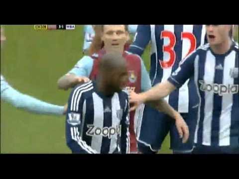 Youssouf Mulumbu - funny red card vs West Ham United 30.03.2013
