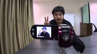 "2.7"" 12MP COMS Anti-shake Digital Video Recorder"