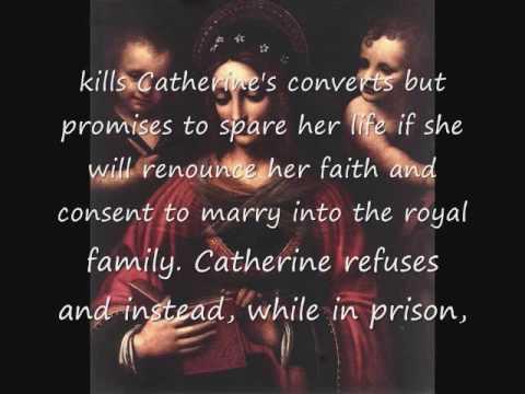 Saint Catherine of Alexandria - Book of Hours