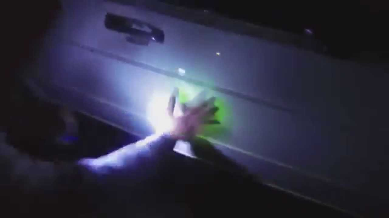 car paint glow in the dark when light hits it youtube. Black Bedroom Furniture Sets. Home Design Ideas