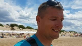 Анапа. Витязево погода 8.07.2017 пляж Кавказ как выглядит проход ЦЕНЫ
