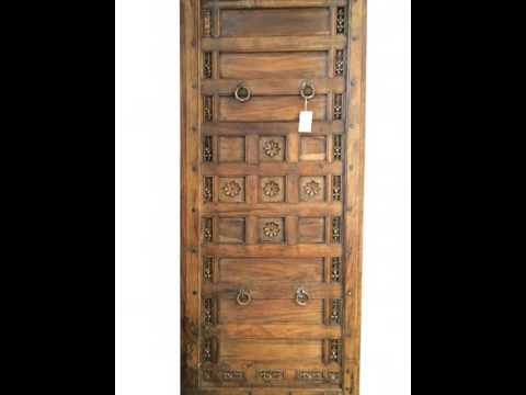 Antique Indian Doors - Antique Indian Doors - YouTube