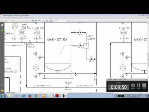 PIPING AND INSTRUMENT DIAGRAM FUEL GAS CONDITIONING SKID INTERFACE KG PLATFORM