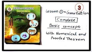 Science class 10th Gravitation(गुरुत्वाकर्षण) New syllabus part-3.