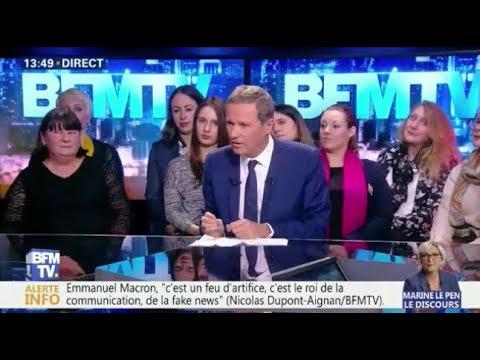 Nicolas Dupont-Aignan invité de BFM Politique