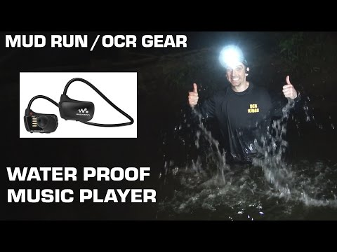 Mud Run / Obstacle Racing Gear - WATERPROOF MUSIC PLAYER