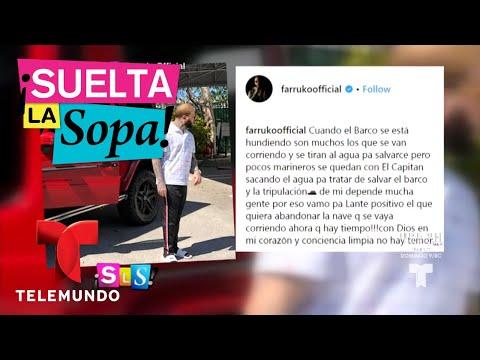 Farruko se presenta en la corte de Miami | Suelta La Sopa | Entretenimiento