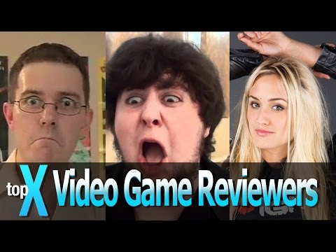 """Top 10 YouTube Video Game Reviewers - TopX Ep.11"""