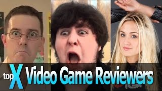 Top 10 YouTube Video Game Reviewers -  TopX Ep.11