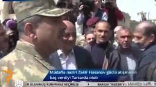 Ադրբեջանական աղբյուրները հաղորդում են հայկական հրետանու հարվածների մասին