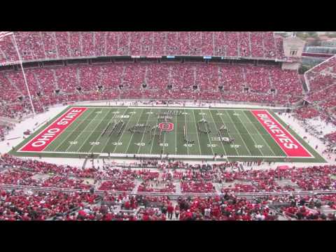 Ohio State Marching Band Halftime Buckeyes on Broadway 10 01 2016 OSU vs Rutgers