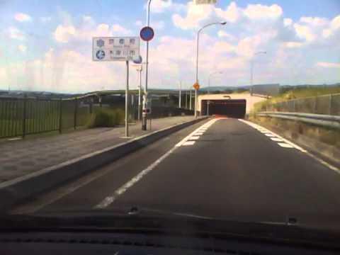 奈良一条高校〜京都木津川に架かる泉大橋