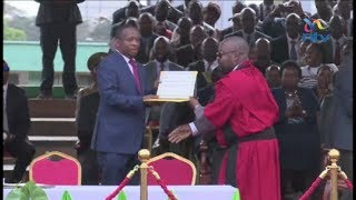 Mike Sonko takes over officially as Nairobi governor, vows to work for the people