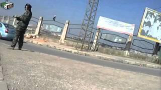 حمص انتشار شبيحات لبشار الجبان عند دوار المواصلات