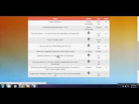 Convert Torrent File to Direct Download Link [No Storage Limit] 2015 - Amantrickz