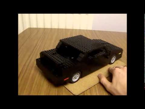 lego knight rider kitt 1982 pontiac trans am model youtube. Black Bedroom Furniture Sets. Home Design Ideas