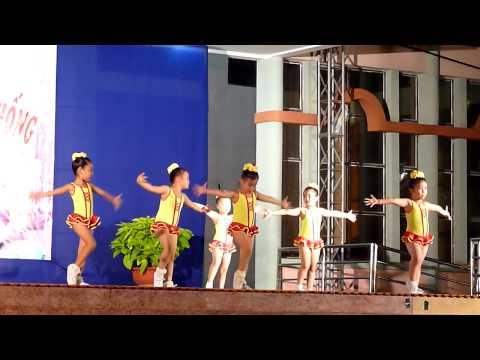 Biểu diễn Aerobic bài Hai con thằn lằn con trường MNTT Hạnh Phúc Quận Thủ Đức