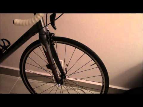 My road bike setup (Jamis Ventura)