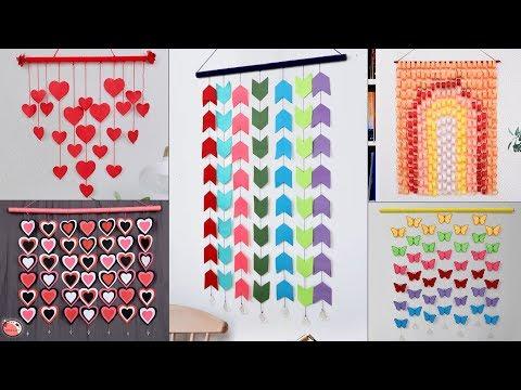 14 Digital Wall Hanging Paper Craft Ideas ! Genius Paper Hacks